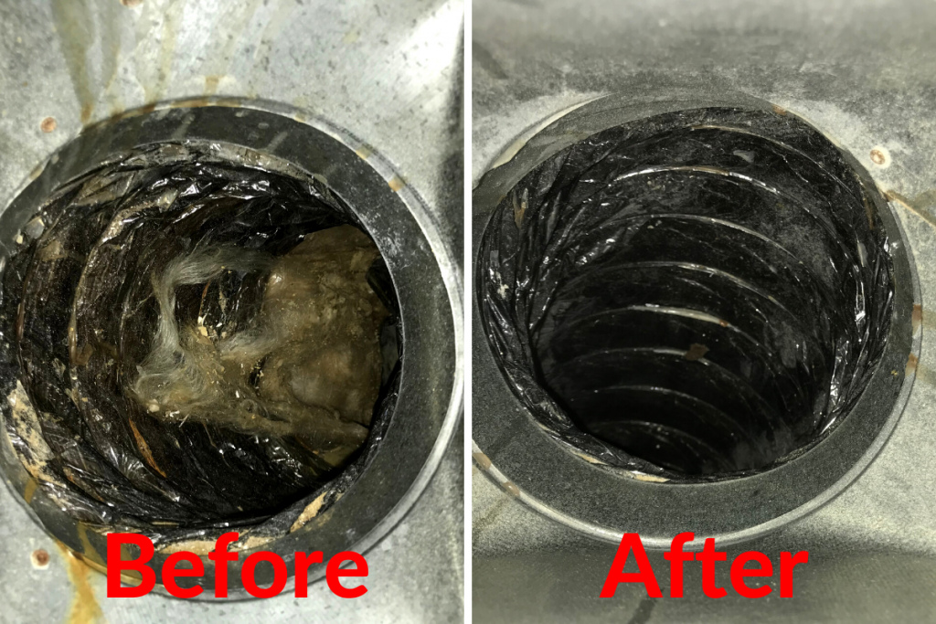 Before/After AC Floor Vent