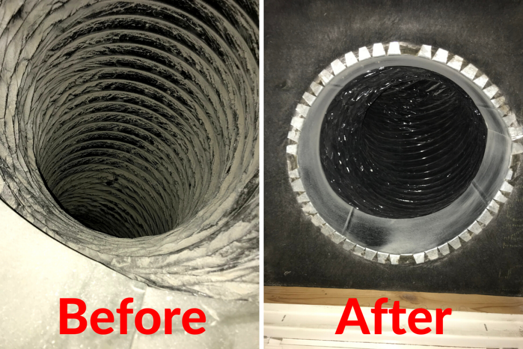 Before/After AC Return Duct